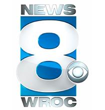 Rochester News 8 logo.